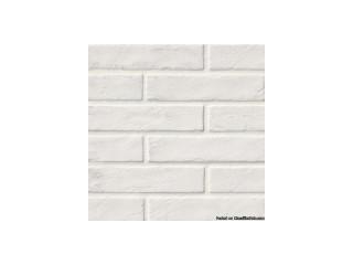 Capella White X Brick Pattern Matte Porcelain